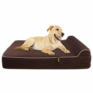 Orthopedic Memory Foam Dog Cot