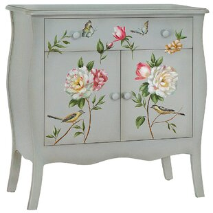 Sanger Hand-Painted 1 Drawer Accent Cabinet by August Grove