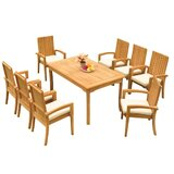 Webster 9 Piece Teak Dining Set