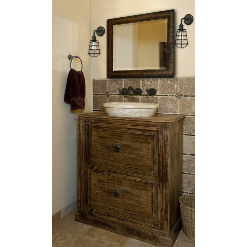 Williston Forge Deadra 1-Light Bath Sconce & Reviews | Wayfair