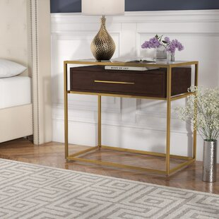 Online Reviews Elston 1 Drawer Nightstand by Willa Arlo Interiors
