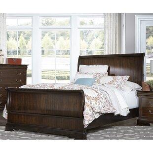 Charlton Home Hebden Sleigh Bed
