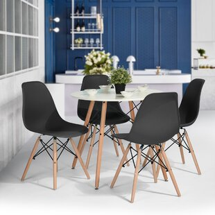Bowlin 5 Piece Dining Set by George Oliver Design