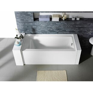 Guide to buy Delano 60 x 30 Freestanding Alcove Soaking Bathtub ByPacific Collection