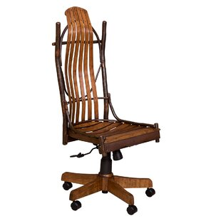 Loon Peak Quesinberry Armless Office Chair