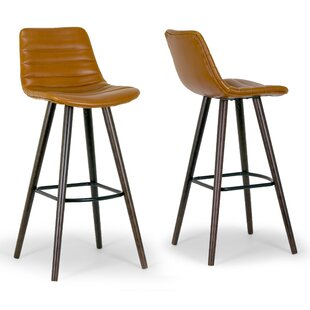 Bargain Alden Bar Stool (Set of 2) by Glamour Home Decor Reviews (2019) & Buyer's Guide