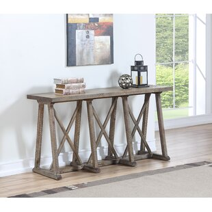 Calgary Cross Console Table by Ophelia & Co.