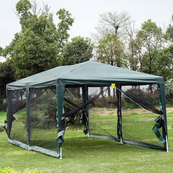 10 X 20 Steel Party Tent Gazebo