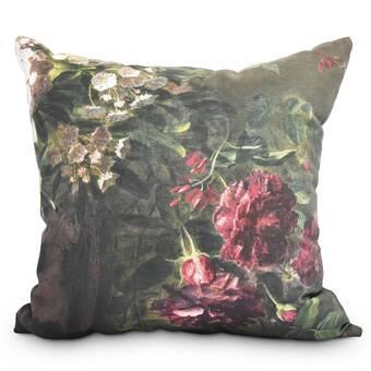 Ebern Designs Ferrel Painted Sunset Outdoor Square Pillow Wayfair