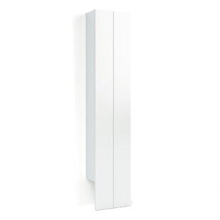 Dominik 40 X 198cm Wall Mounted Tall Bathroom Cabinet By Wade Logan