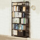 Ajeta Solid Wood Etagere Bookcase by Ebern Designs