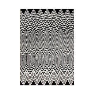 Price comparison Kerber Hand Tufted Wool Black Area Rug ByBrayden Studio