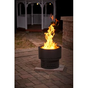 Flame Genie Inferno Steel Wood Burning Fire Pit
