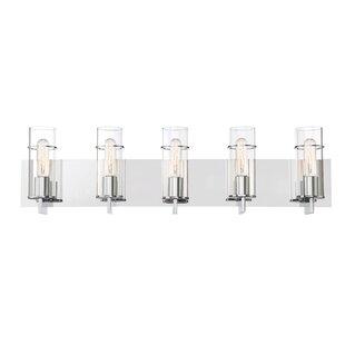 Find Hamon 5-Light Vanity Light By Williston Forge