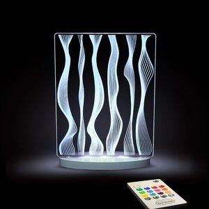 Deco Waves LED Night Light