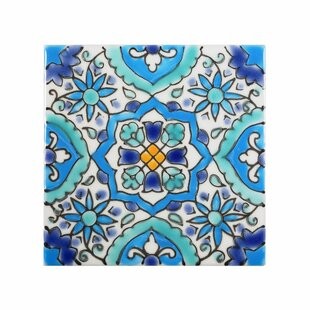 Accent Tiles - Cobalt blue ceramic tile 4x4
