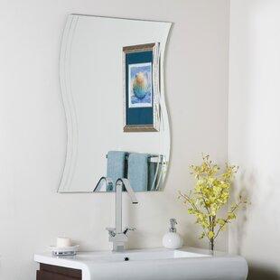 Look for Frameless Surf Wall Mirror ByDecor Wonderland