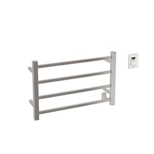 Gala Wall Mounted Electric Towel Warmer with Timer by Ancona