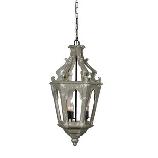 Bristow 3-Light Lantern Pendant by Gracie..