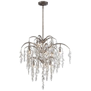 Bella Flora 12-Light Crystal Chandelier b..