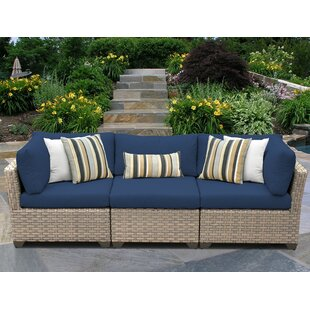 Rochford Patio Sofa with Cushions