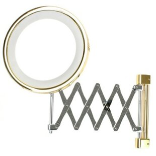 Best Deals Wall Mounted Extendable Double Face Magnifying Mirror By Windisch by Nameeks