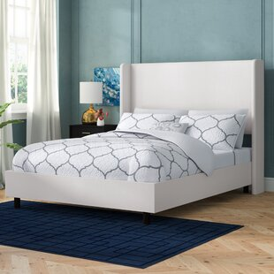 Godfrey Solid Wood and Upholstered Low Profile Standard Bed