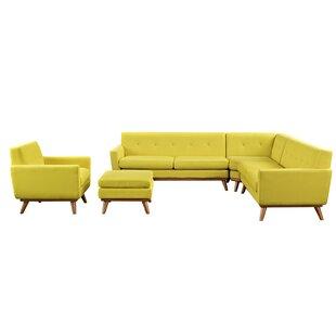 Corrigan Studio Saginaw 2 Piece Living Room Set