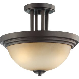 Craddock Semi Flush Mount by Winston Porter