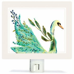 Oopsy Daisy Boho Swan Night Light