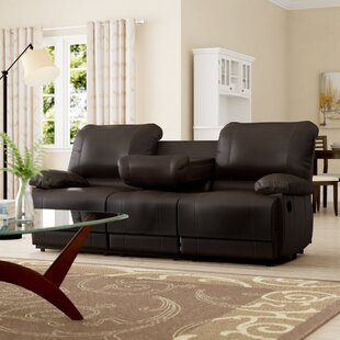Best Deals Edgar Double Reclining Sofa Andover Mills