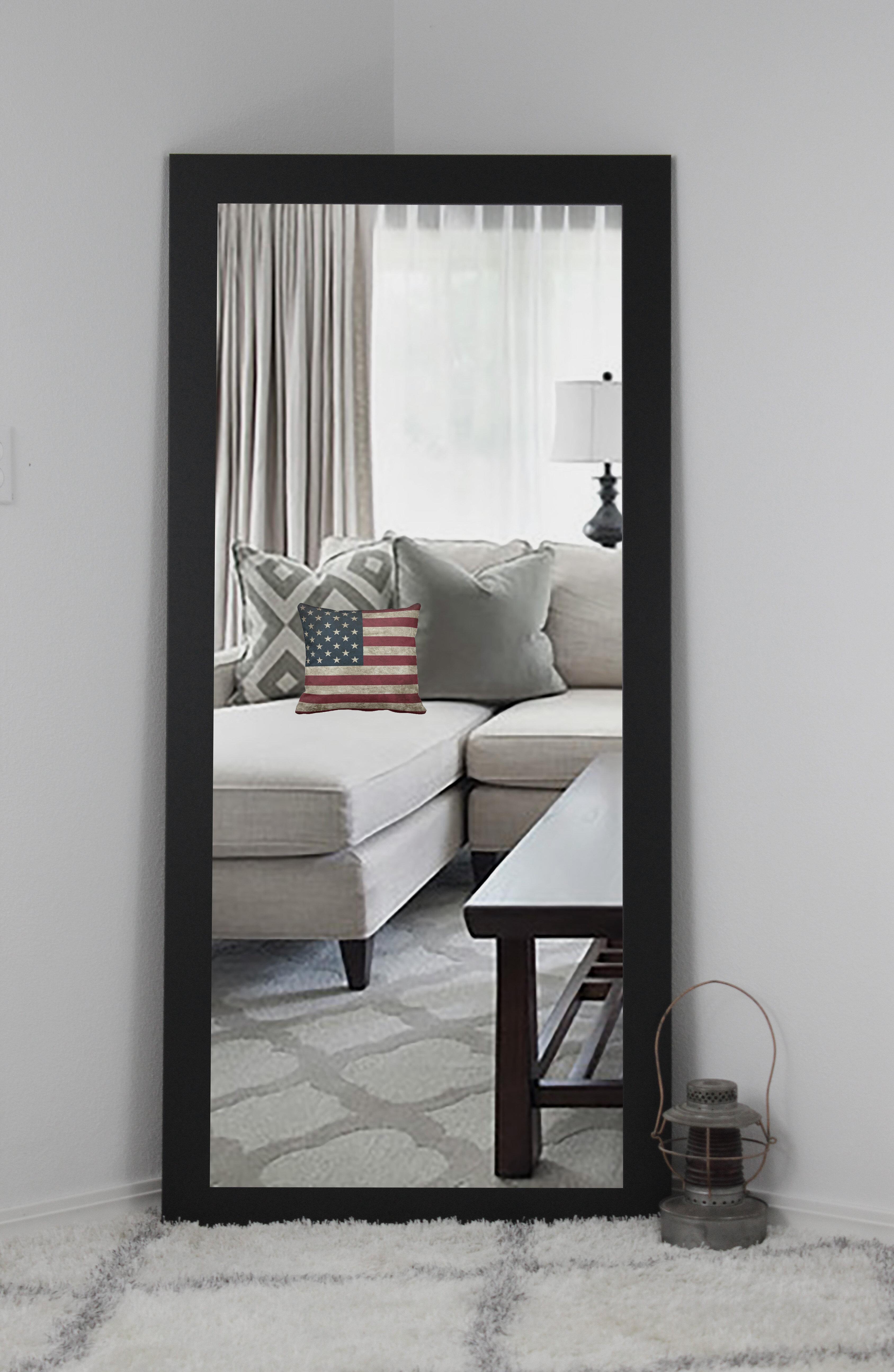 Langley Street Sandersville Modern Contemporary Wall Mirror Reviews Wayfair
