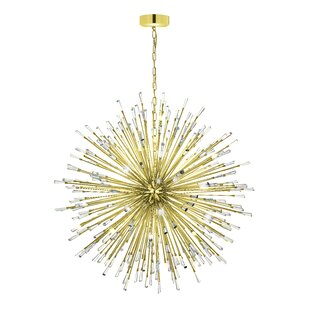 Everly Quinn Loftin 50-Light Sputnik Chandelier