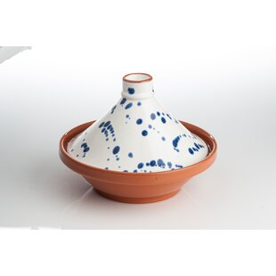 1.75 Qt. Speckled Ceramic Round Tagine