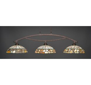Loon Peak Essonnes 3-Light Kitchen Island Pendant