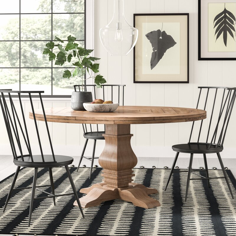 Magaw Solid Wood Dining Table