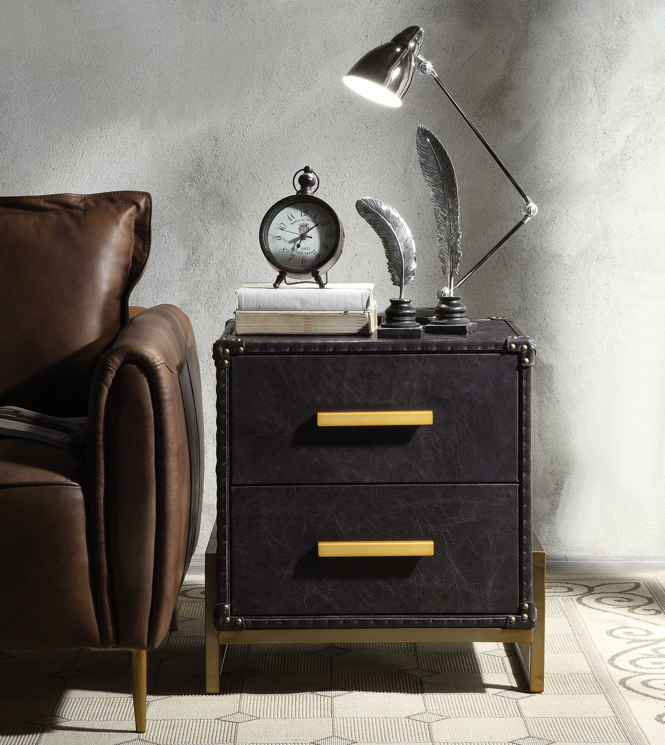 Hoboken End Table With Storage