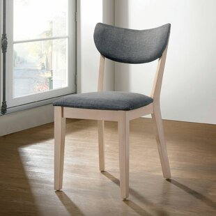 SunPrairie Upholstered Side Chair in Gray Set of 2