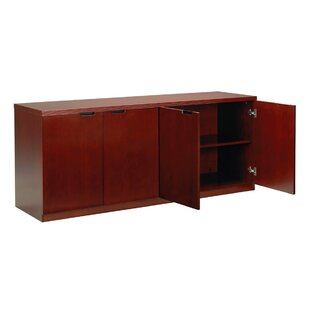 Price comparison Luminary Series 4 Door Credenza by Mayline Group