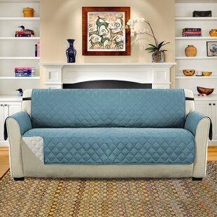 Check Prices Diamond T-Cushion Sofa Slipcover by Winston Porter Reviews (2019) & Buyer's Guide