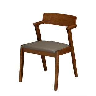 Buckleton Set of 2 Wooden Dining Chairs (Set of 2)