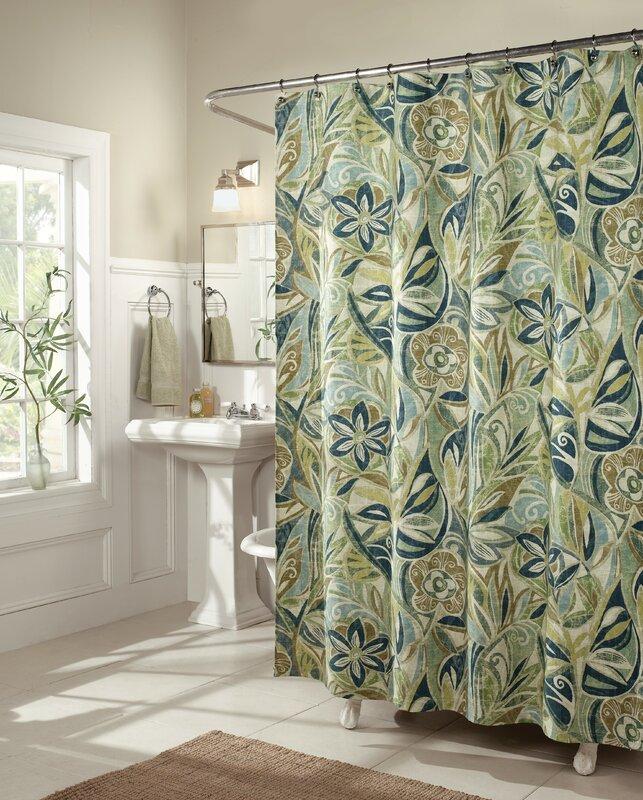 Island Breeze Shower Curtain