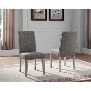 Lamoureux Upholstered Dining Chair (Set of 2)