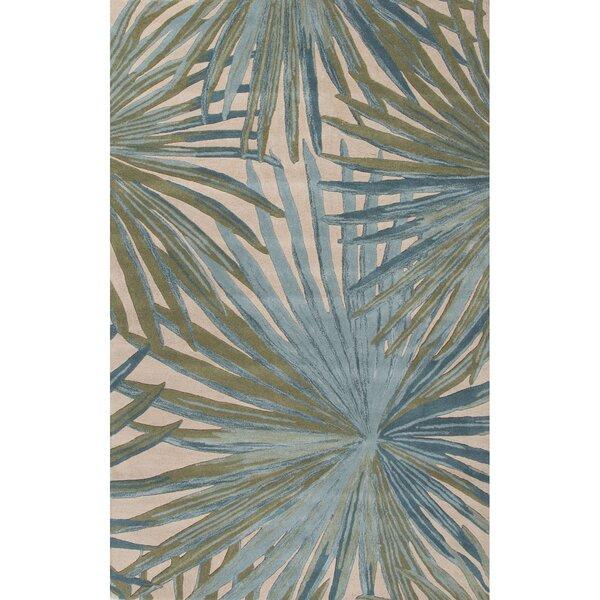 Bay Isle Home Arsos Hand Tufted Blue/Green Area Rug U0026 Reviews | Wayfair