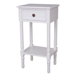 Alexzander End Table with Storage by Ophelia & Co.