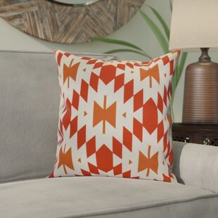 Soluri Geometric Outdoor Throw Pillow