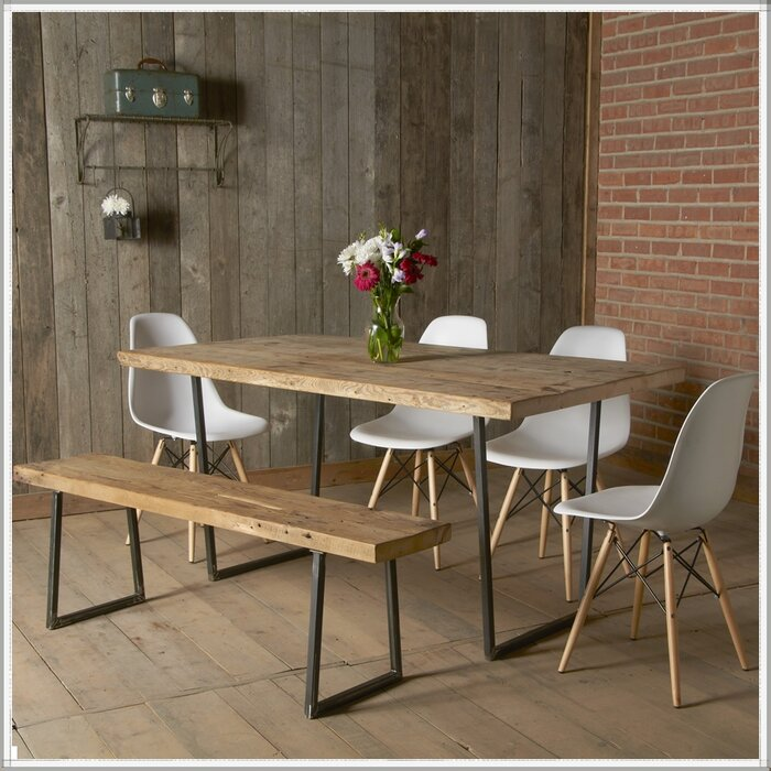 Urban Wood Goods Brooklyn Dining Table Wayfairca Inspiration Dining Room Brooklyn
