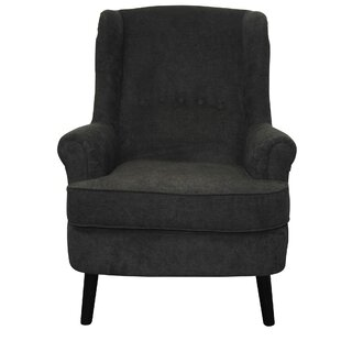 Nittany Wingback Chair By Ophelia & Co.