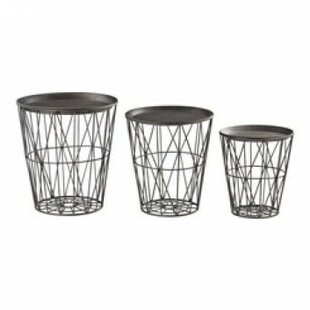 Kubiak 3 Piece Coffee Table Set