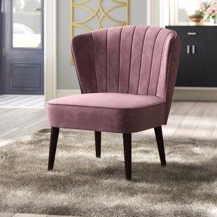 Alchiba Channeled Slipper Chair Willa Arlo Interiors
